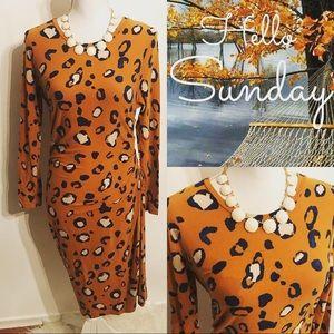 So pretty! 3.1 Phillip Lim animal print dress